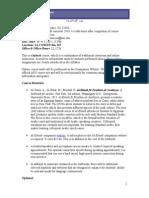 Arabic 202 Syllabus- Fall 2014 (1)