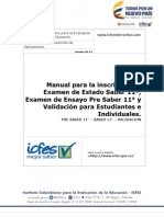 Manual de Inscripcion Para Estudiantes e Individuales