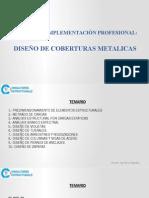 Diseño de Coberturas Metalicas