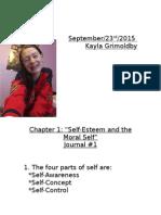 self-esteem journal 1