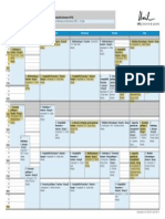 HEC Timetable