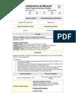 Manual de Trámite de Divorcio Ante Ayuntamiento