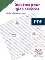 130 recettes pour allergies sévères-LE SUREAU (2012)