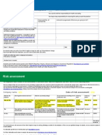 Risk Assessment and Policy Template SITE SPECIFIC