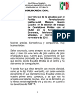 04-11-15 Intervención de la Senadora Marcela Guerra