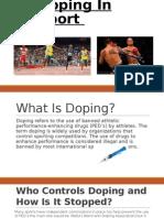 Doping In Sport.pptx