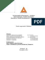ATPS direito emrpesarial e tributário completo.docx