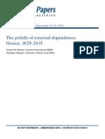 The pitfalls of external dependence
