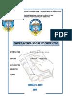 Compraventa Sobre Documentos