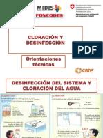 3. Cloracion y Desinfección MVCS-FONCODES