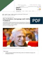 Laudatio auf Rainald Goetz von Jürgen Kaube