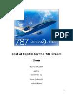 787 Financial Analysis