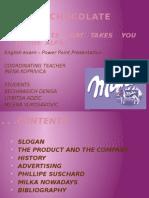 Milka prezentacija na engleskom jeziku