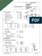 Diseño Correas de Techo (Aisc 360-10)