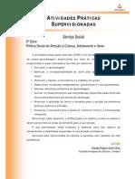 ATPS A2 2015 2 SSO6 Politica Social Atencao Crianca Adolescente