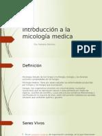 Introducción a La Micología Medica
