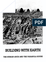 Building With Earth Nubian-Arch Project in Bolivia 2005
