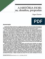 CHARTIER, 'História Hoje'