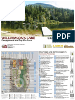 Williamson's Lake Campground and Day Use Area Concept Plan