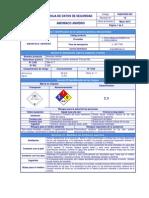 HDS Amoniaco Anhídro