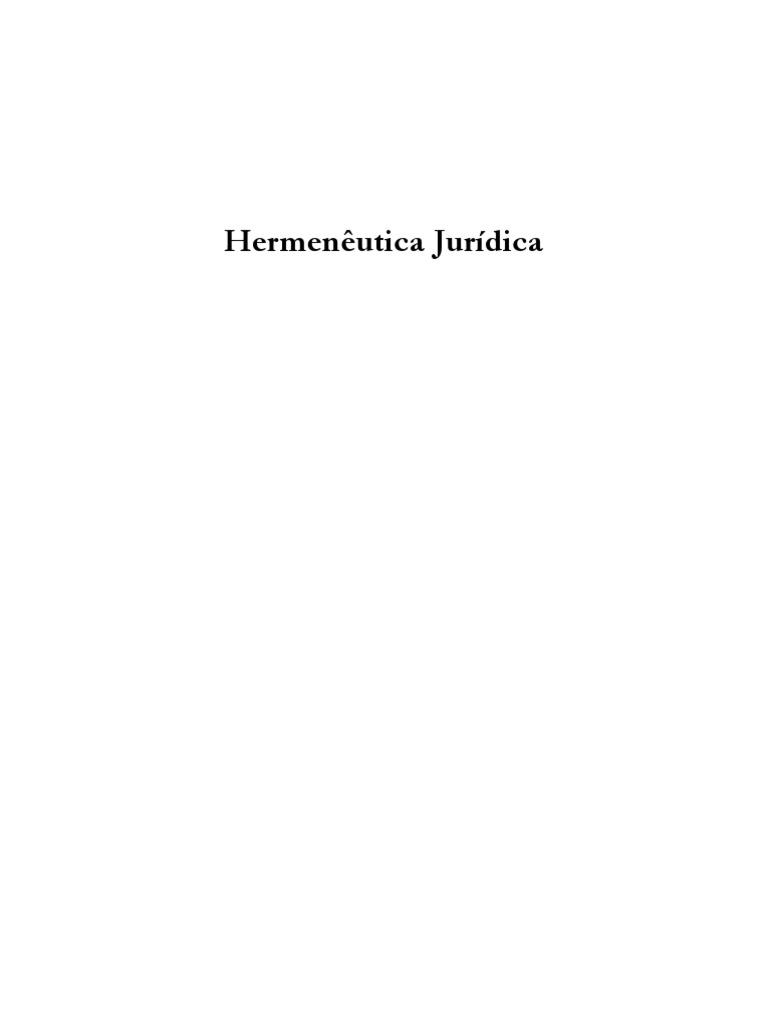 Hermenutica jurdica alexandre arajo costa fandeluxe Image collections