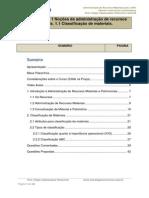 Administração de Recursos Materiais para a DPU