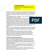 Childern Orthopedics.normal Development & Congenital Disorders
