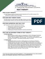 Terapia de Calor Heat Therapy