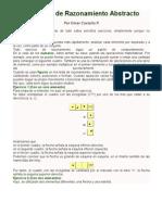 Ejercicios de Razonamiento Abstracto PRUEBA.docx