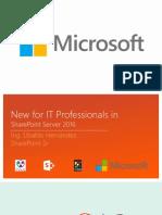 SharePoint 2016 breve inicio