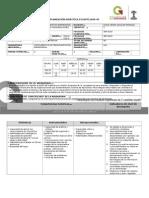 Planeación Didáctica Finanzas en Las Organizaciones 2015-2