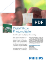 Leaflet Digital Silicon Photomultiplier