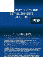 The Bombay Shops and Establishment Act,1948