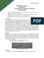 Laboratorio #2 de Termodinámica I