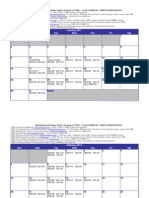 Spring 2011 CRSP Schedule