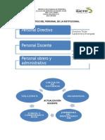 Diagnóstico Del Personal de La Institucional