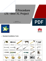 Method of Procedure LTE 1800 XL Project