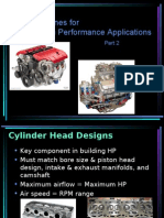 Building High Performance Engines 2