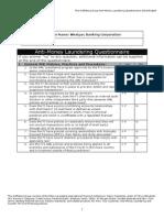 Wbc Wolfs Berg Questionnaire