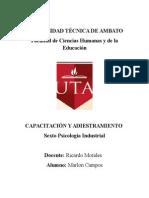 Competencias Gerente Rrhh y Psicologo Industrial