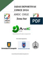 Bases Olimpiadas Deportivas Conce 2014