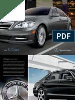 Mercedes Brochure 2011 s Class