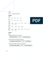 PET Book 2, Test 1 (Answer Key)