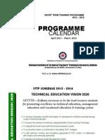 Programme Calendar 2015 16
