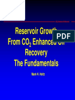 Reservoir Growth from CO2 EOR