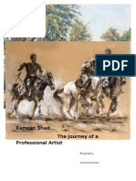 The Journey of a Professional Artist