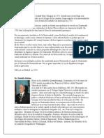 Biografia de Cientificos y Doctores Guatemaltecos