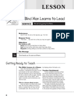 4th Quarter 2015 Lesson 6 Kindergarten Teachers Guide
