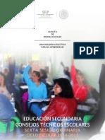 Cte Sexta Sesion 2014-15 Morelos Matutina
