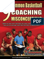 Basketball Coaching Misconceptions